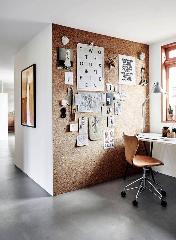 Use Cork In Your Home Office