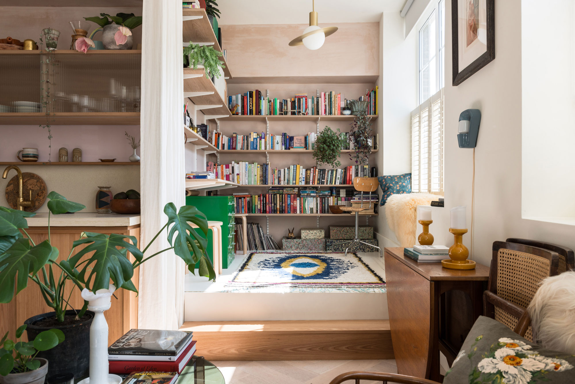 Why-Well-Designed-Homes-Are-Worth-More-Interior-With-Books-And-Plants