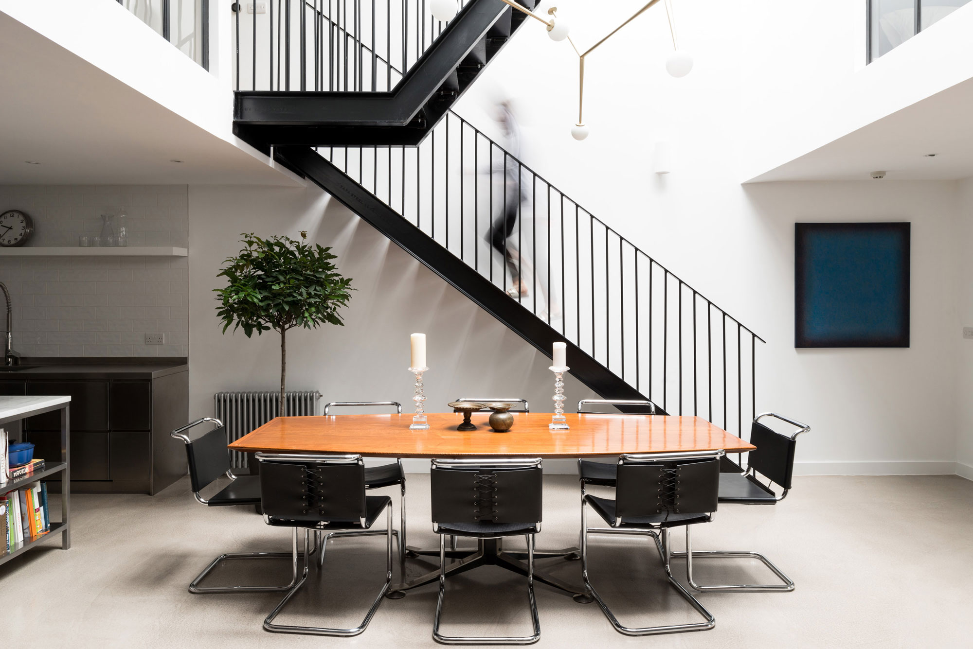 The-Modern-House-Why-Well-Designed-Homes-Are-Worth-More-Black-Metal-Internal-Staircase